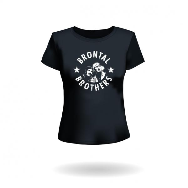 "Damen T-Shirt ""Brontal Brothers"""