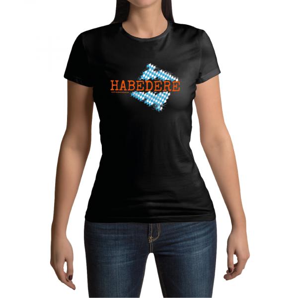 Habedere T-Shirt Damen Winkelbeiner La Shirtz