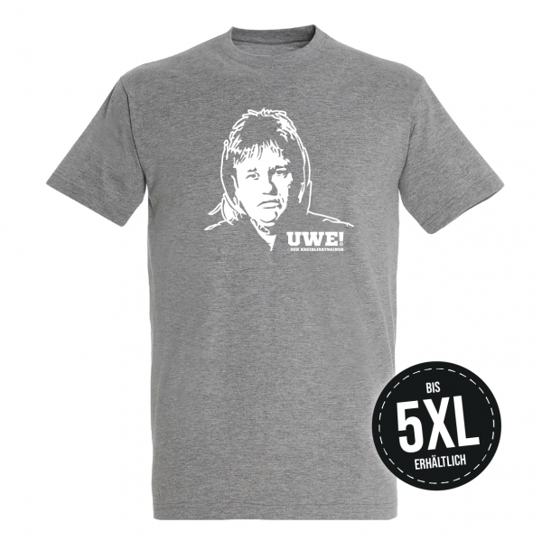 UWE! Original T-Shirt (graumeliert)