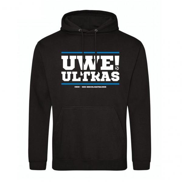 UWE! Ultras Hoodie (schwarz)
