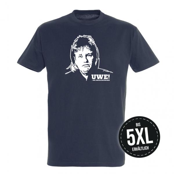 UWE! Original T-Shirt (dunkelblau)