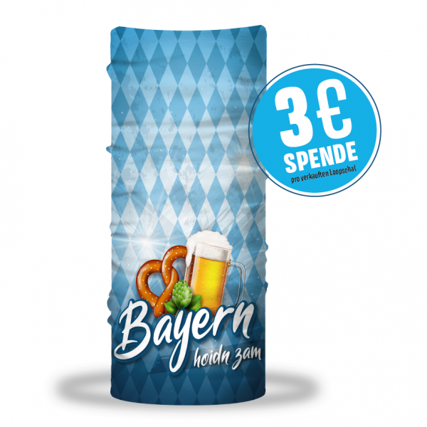 """Bayern hoidn zam"" BIER Edition Multifunktionstuch (Loop)"
