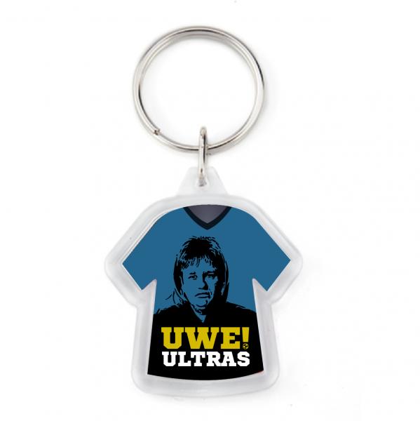 """UWE! Trikot Schlüsselanhänger """"Uwe! Ultras"""""""