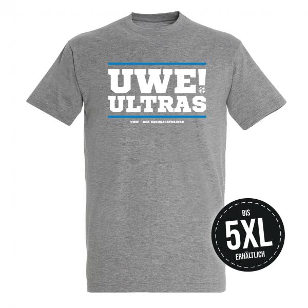 UWE! Ultras T-Shirt (graumeliert)