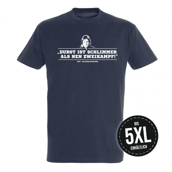 UWE! Durst T-Shirt (dunkelblau)