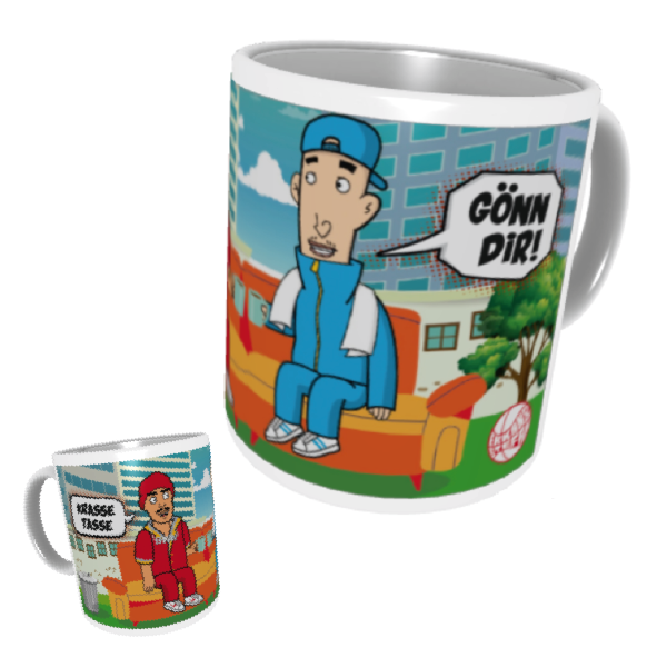 "Erkan & Stefan ""Gönn Dir"" COMIC Tasse"