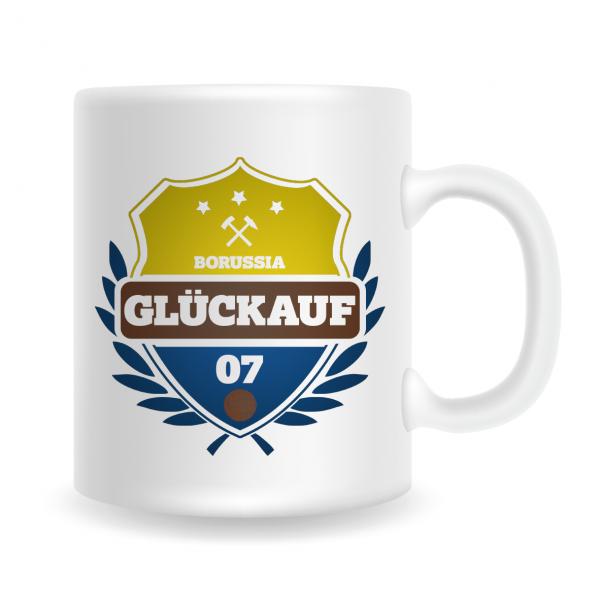 "UWE! Tasse ""Borussia Glückauf 07"""