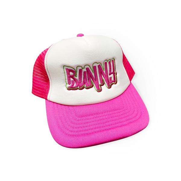 Snapback Cap Pink Weiss Erkan & Stefan Bunny Cap