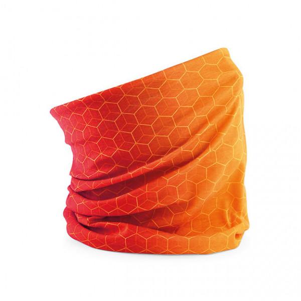 Geo Orange Beechfield Morf La Shirtz