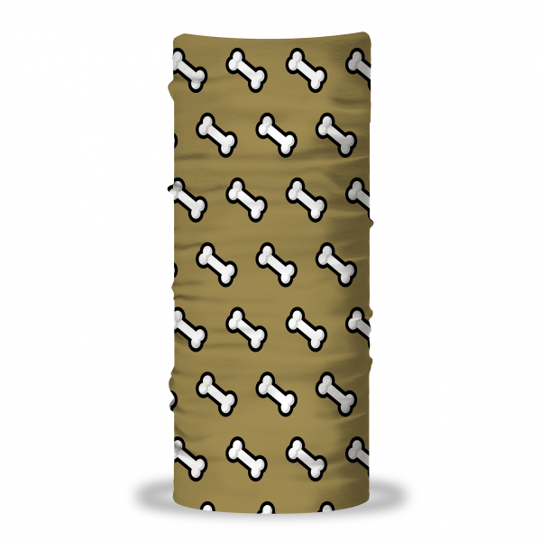 """""""Popart Knochen"""" Hunde Multifunktionstuch (Loop)"""