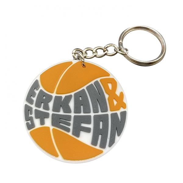 ERKAN & STEFAN Logo Schlüsselanhänger