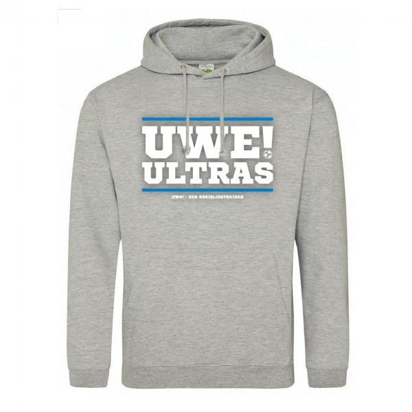 UWE! Ultras Hoodie (graumeliert)